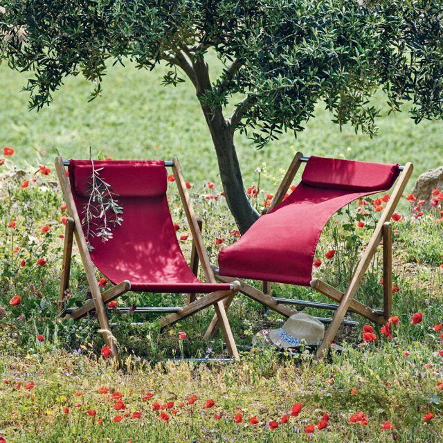 14 fauteuils pour buller au jardin tout l\'été !   Transat ...