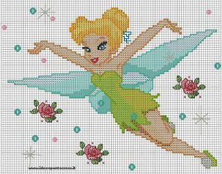 Ponto cruz: Frozen e as Princesas Disney Ponto Cruz.