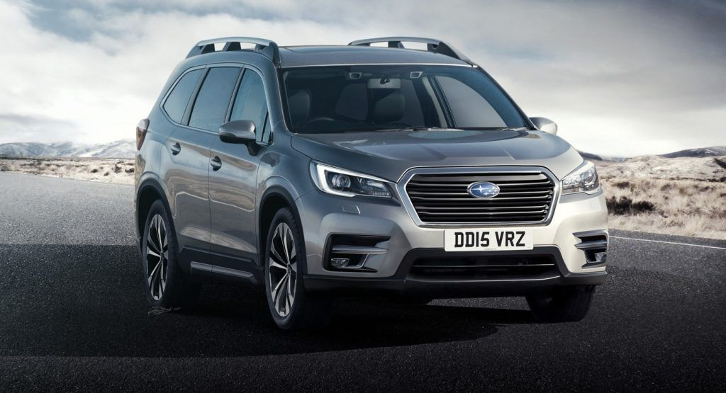 the 2019 subaru tribeca will be a 7 seat mid size crossover this rh pinterest com
