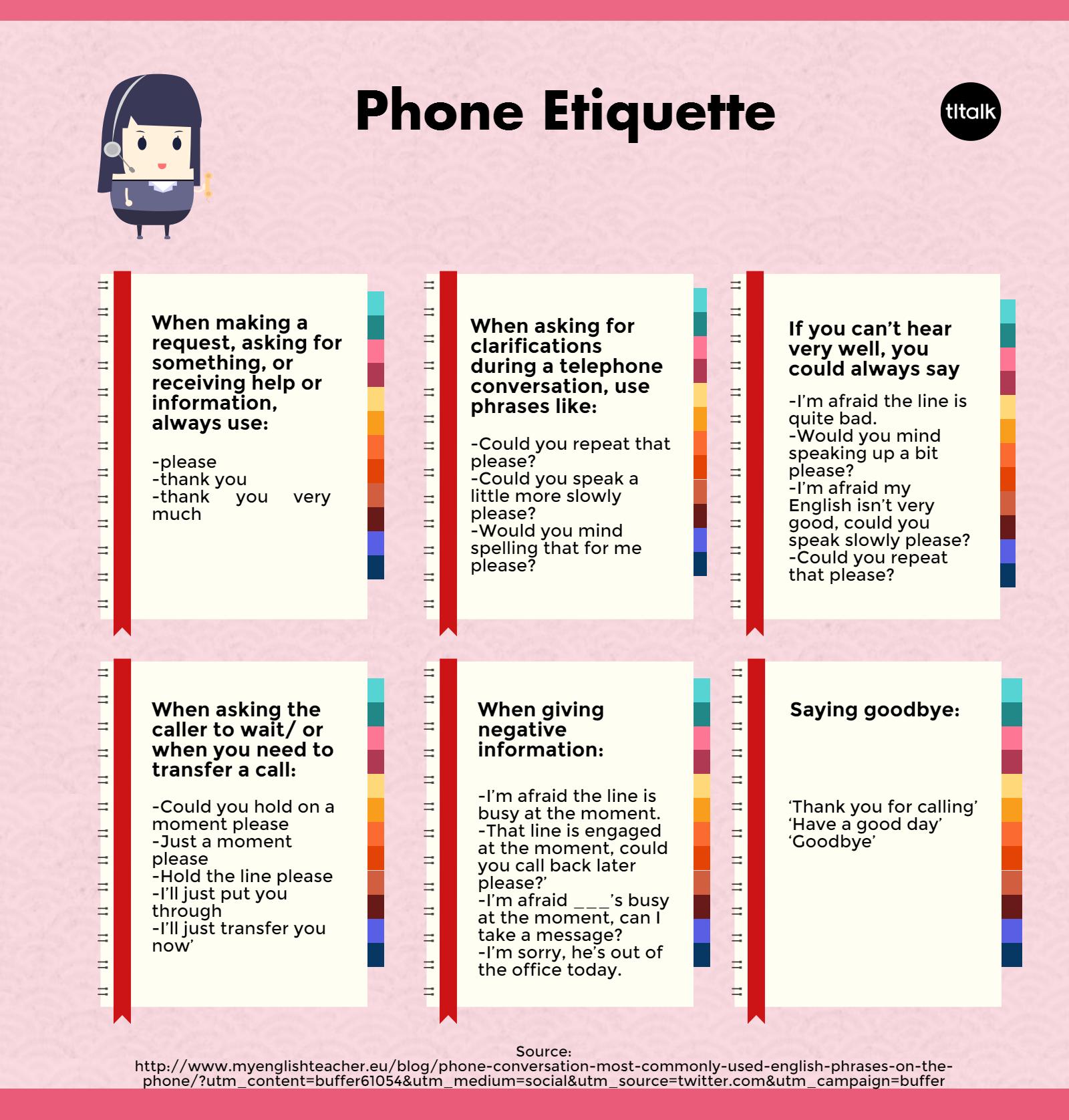worksheet Telephone Etiquette Worksheet phone etiquette english language esl efl learn etiquette