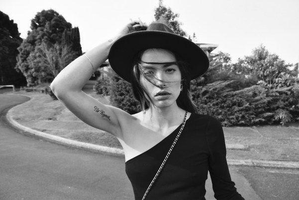 Nami from NZ fashion blog serendipity ave wearing revolve and FRWD