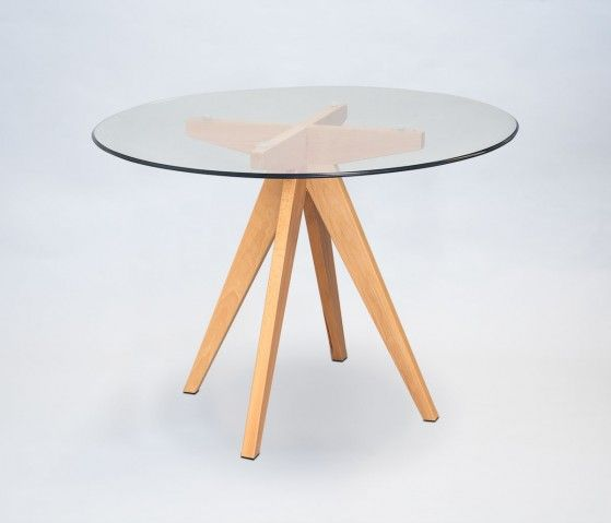 Mesa De Comedor Concordia 100cm Vidrio Mesas De Comedor Mesa De Diseño Mesas De Vidrio