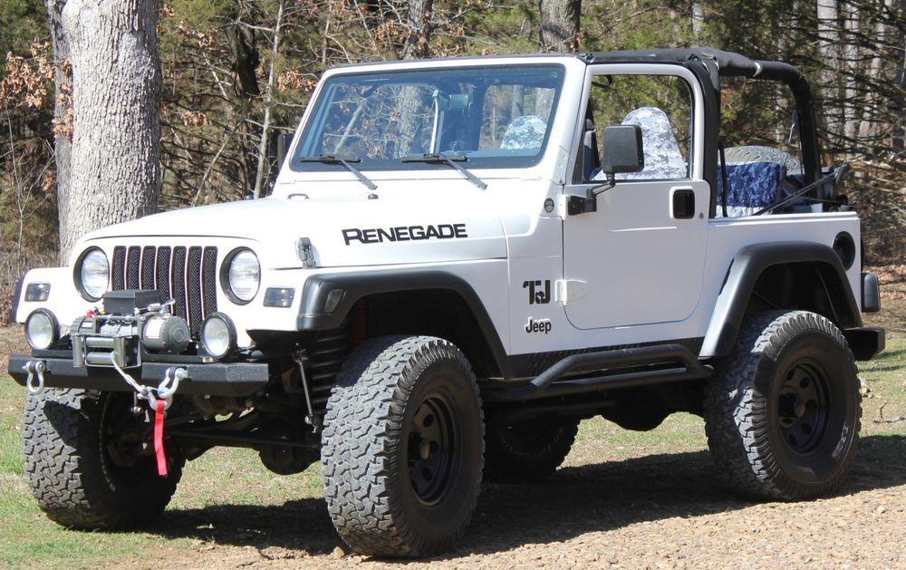 eBay 2000 Jeep Wrangler Restomod 2000 Jeep Wrangler TJ