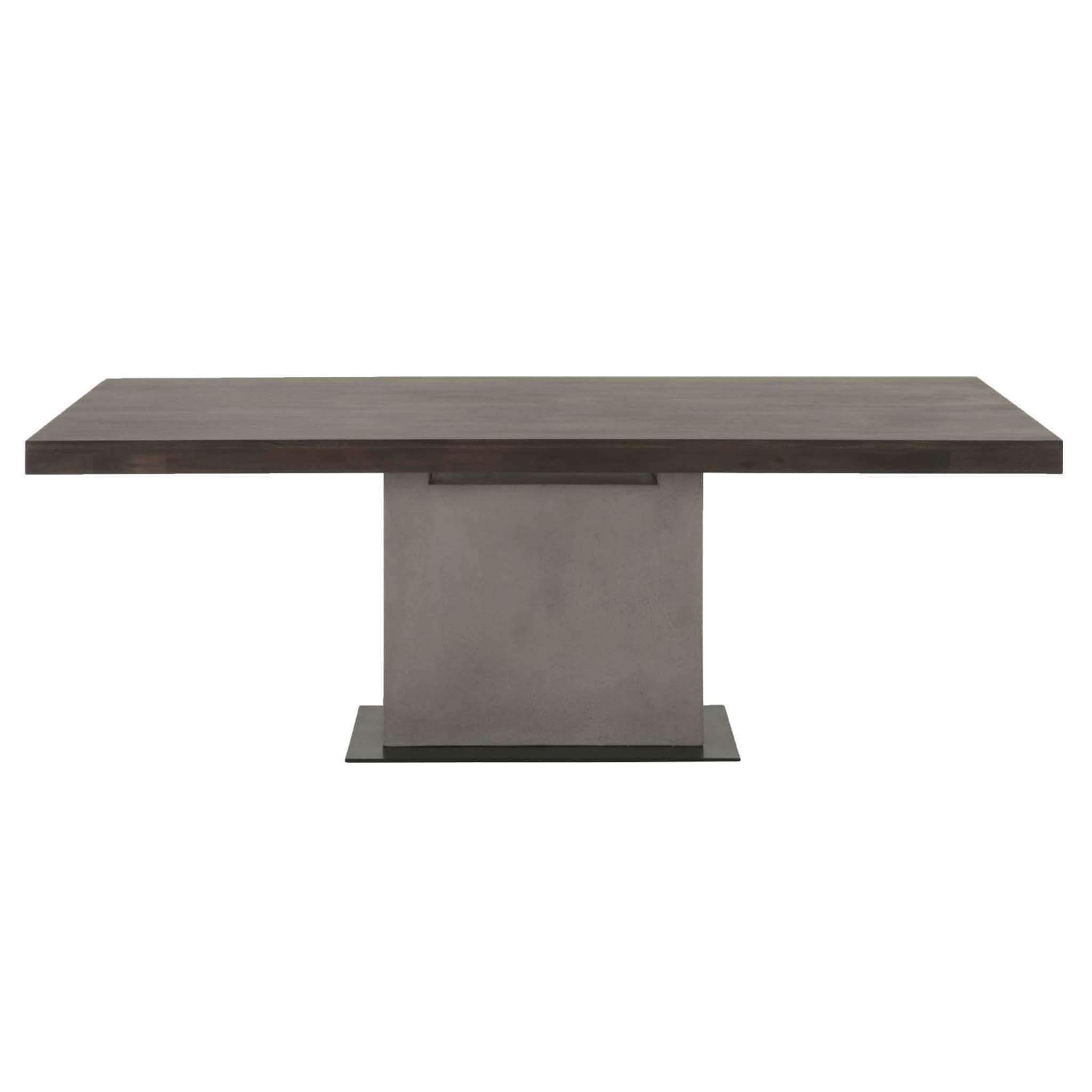 Cuba Dining Table Dining table, Pedestal dining table