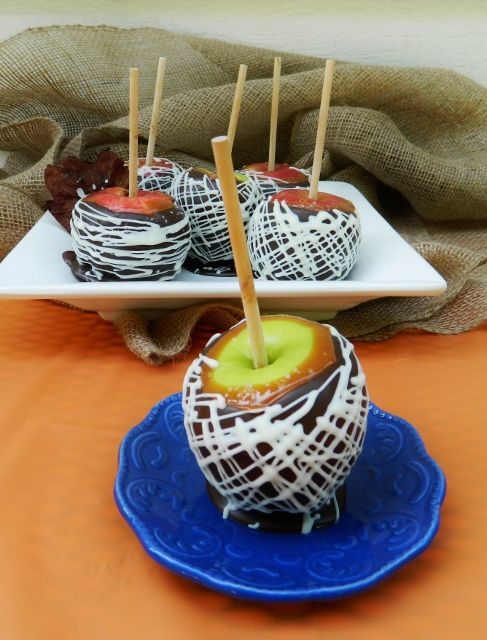 Chocolate Sea Salted Caramel Apples, Oh My!