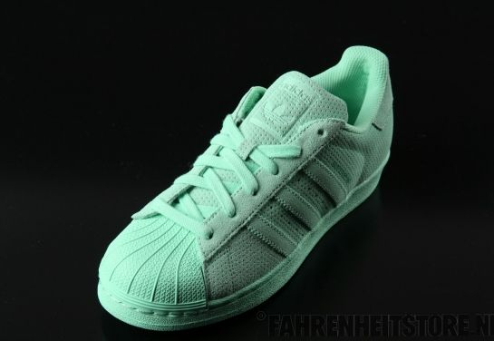 Adidas Adidas Superstar Rt Camoscio Chiaro Aqua Scarpe Aq4916 Pack