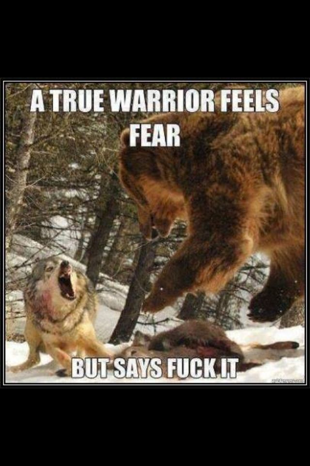 This is like an everyday thing for me! From new heights to Kickboxing! We r fearless!!;