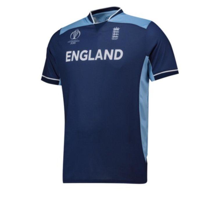 Win England Cricket Team Poly T Shirt Navy Blue England Cricket Team Cricket Teams England