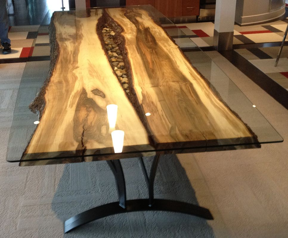 Steel Root Furniture, Modern Wood And Metal