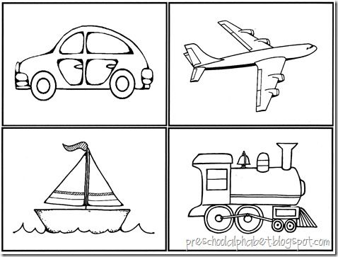 coloring pages for transportation units - photo#1