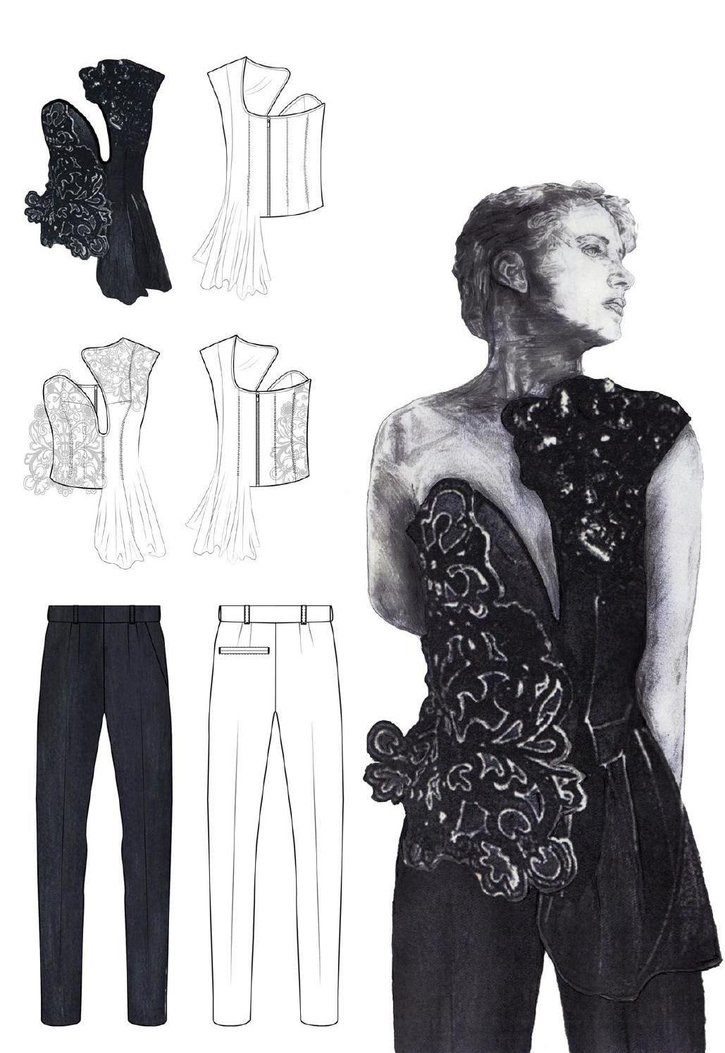 Westminsterfashion Sam Towner Portfolio Clippedonissuu Fashion Design Portfolio Fashion Installation Art Clothes