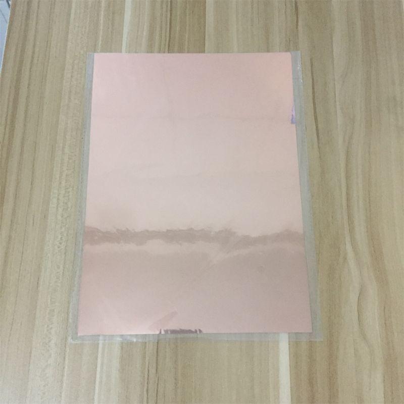 Gold Silver Red Hot Stamping Foil Paper Laminator Laminating Transfer On Elegance Laser Printer Craft Paper 50pcs 20x29cm A4 Foil Paper Foil Stamping Paper Crafts