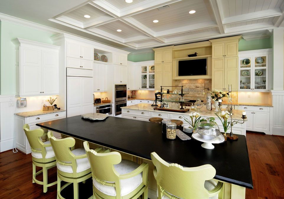 Coastal Kitchen Raymond Design Studio Naples Florida Naples