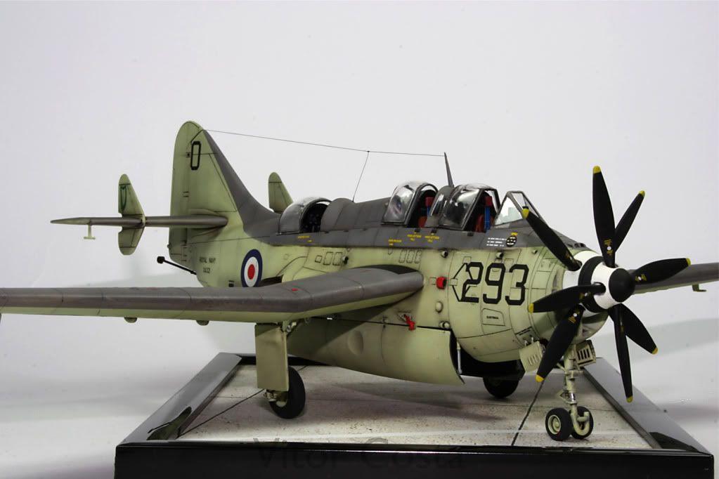 Fairey Gannet 1/48 Scale Model | Diecast WWII | Model