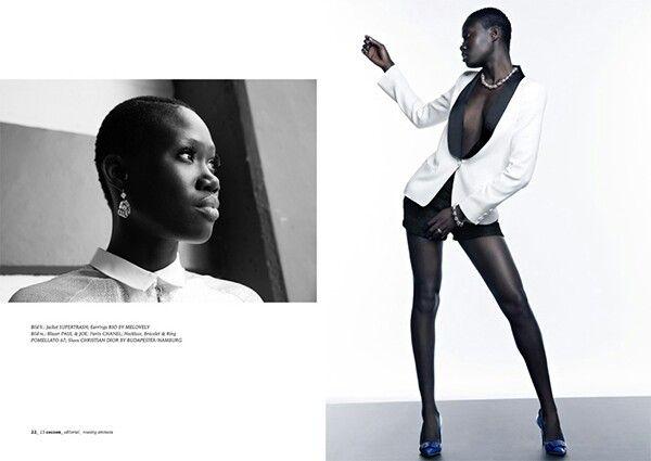 Model Aminata Sanogo für Cocoon Magazin. --- Model Aminata Sanogo for Cocoon Magazine. Credits ...