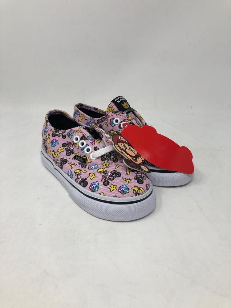 ad06bd6379 VANS TODDLE NINTENDO PINK PRINCESS PEACH MARIO KART SHOES GIRLS SIZE 7.5   fashion  clothing  shoes  accessories  babytoddlerclothing  babyshoes  (ebay link)