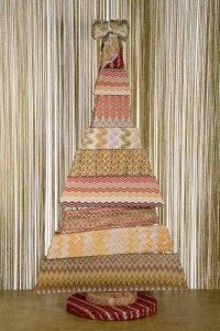 Missoni Christmas tree designed for Sergio Valente's charity association on Imore.it