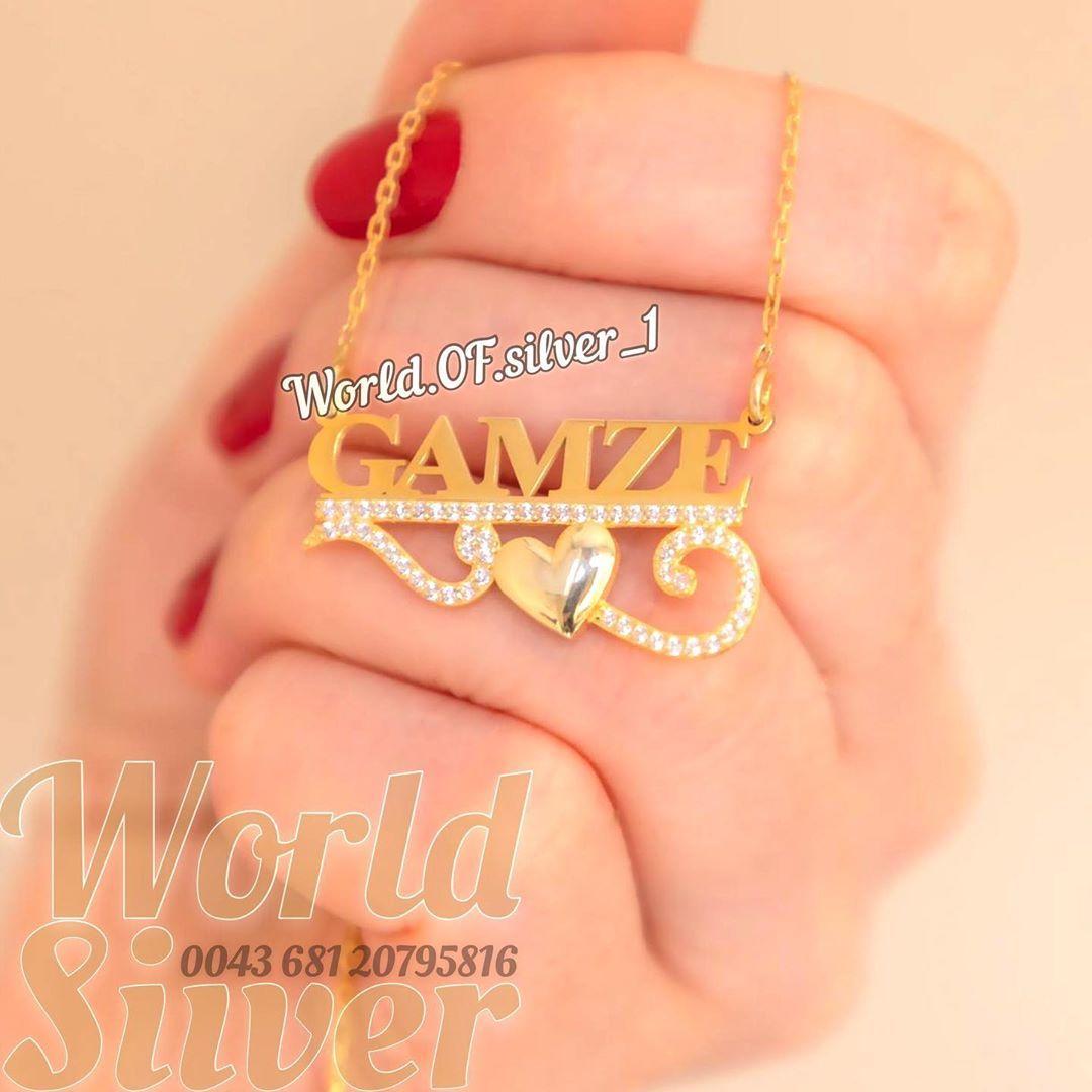 فضـــــه عيــــــــار 𝟻 𝟸 𝟿 للطـــــلب واتـــس 0043 681 20795 816 متـوفـر تـوصيـل لكــل دول العالــم مــــدة الشـــحن 𝟑 In 2020 Gold Necklace Necklace Jewelry