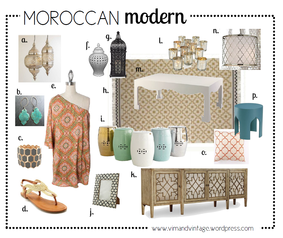 Design Obsession Moroccan Style Modern Moroccan Modern And