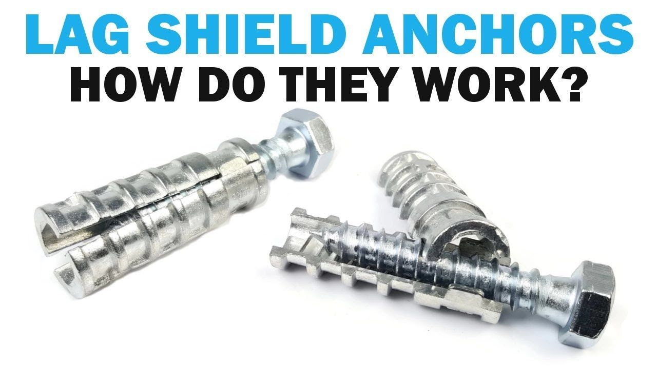 What Are Lag Shield Concrete Anchors Fasteners 101 Concrete Anchors Concrete Fasteners
