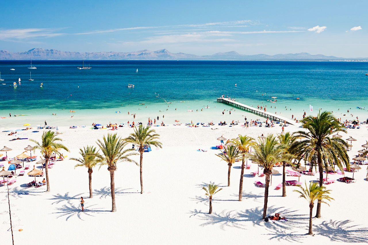 Alcudia Beach Mallorca Alcudia Mallorca Mallorca Reisen Mallorca