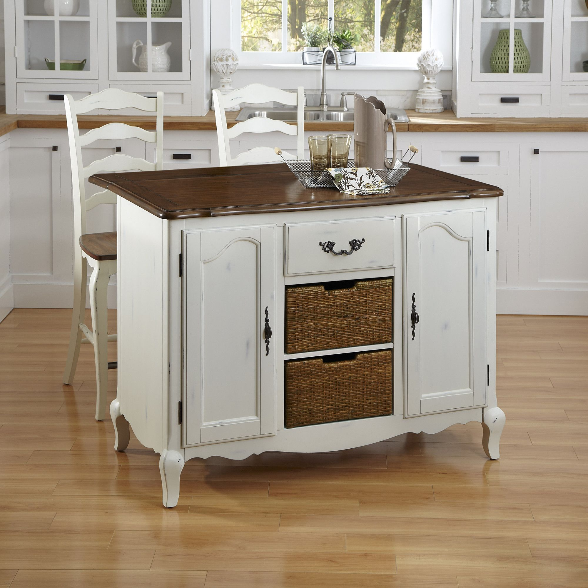 French countryside kitchen island wayfair