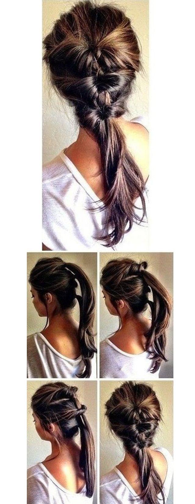tuto coiffures pour une rentrée bien peignée hair style makeup