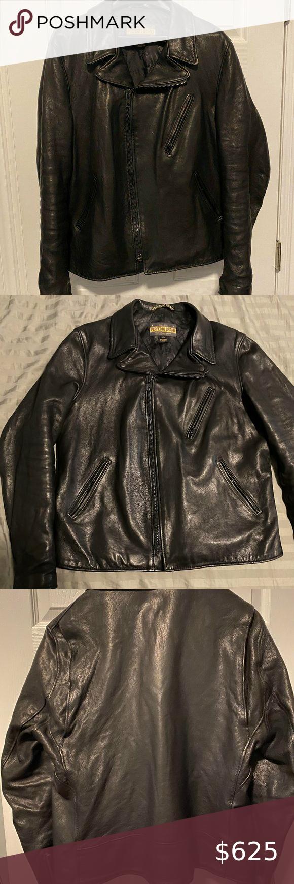 Schott Raven Lambskin Perfecto P213 Leather Jacket Lightly Used Schott Nyc Raven Lambskin Perfecto P213 Jacket Worn Half A Dozen Times Never In The Rain Bla [ 1740 x 580 Pixel ]