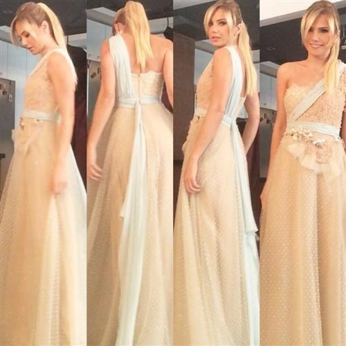 Tuvanam Gece Elbisesi 4200 Tl Yerine 600 Tl Modacruz Evening Gowns Black Tie Gown White Formal Dress
