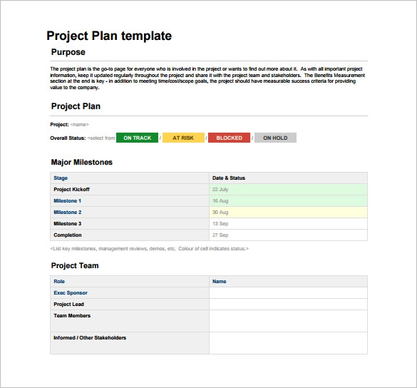 Project Plan Template Word from i.pinimg.com