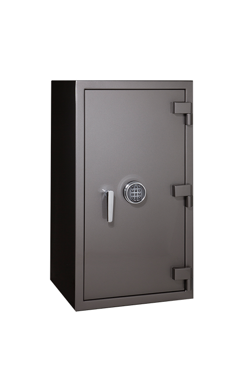 Titanium Metallic Jewelry Safe For Home Casoro Jewelry Safes