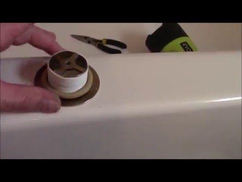 How To Repair Leaking Bathtub Drain Diy Fix Clear
