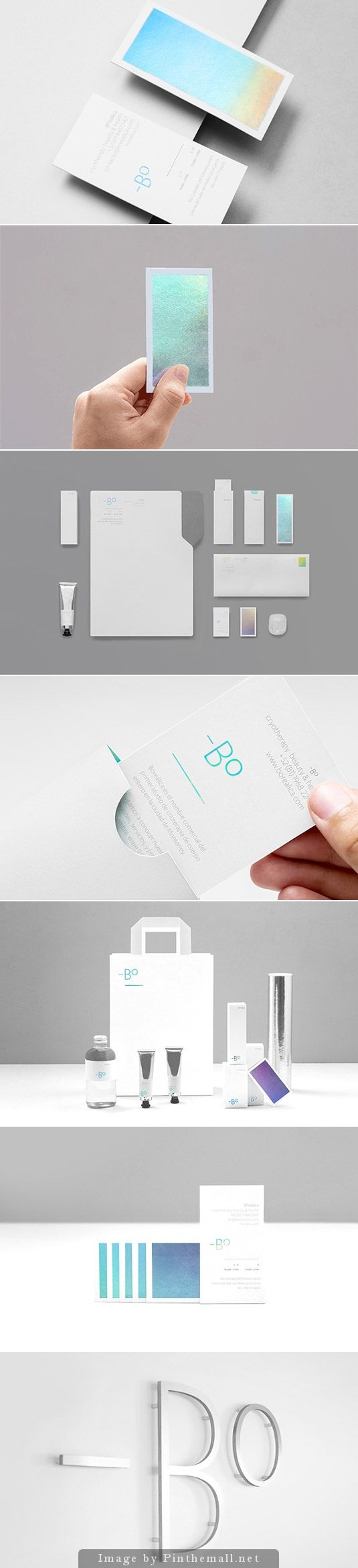 Minimal branding for specialist medical clinic has the cool factor by Anagrama