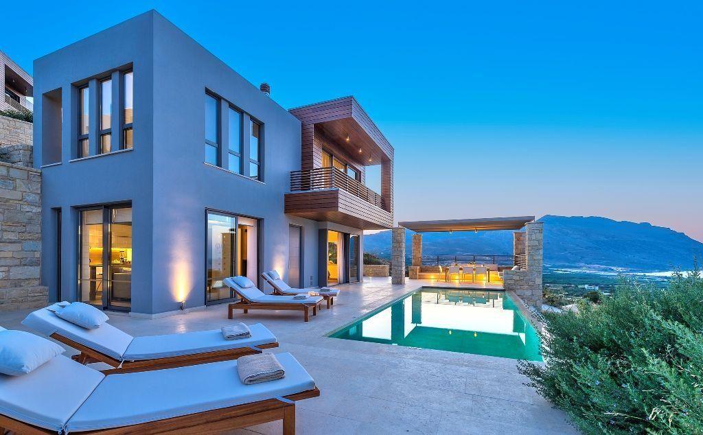 Villa in Kreta | Reisen | Pinterest | Kreta, Ferienhäuschen und Mein ...