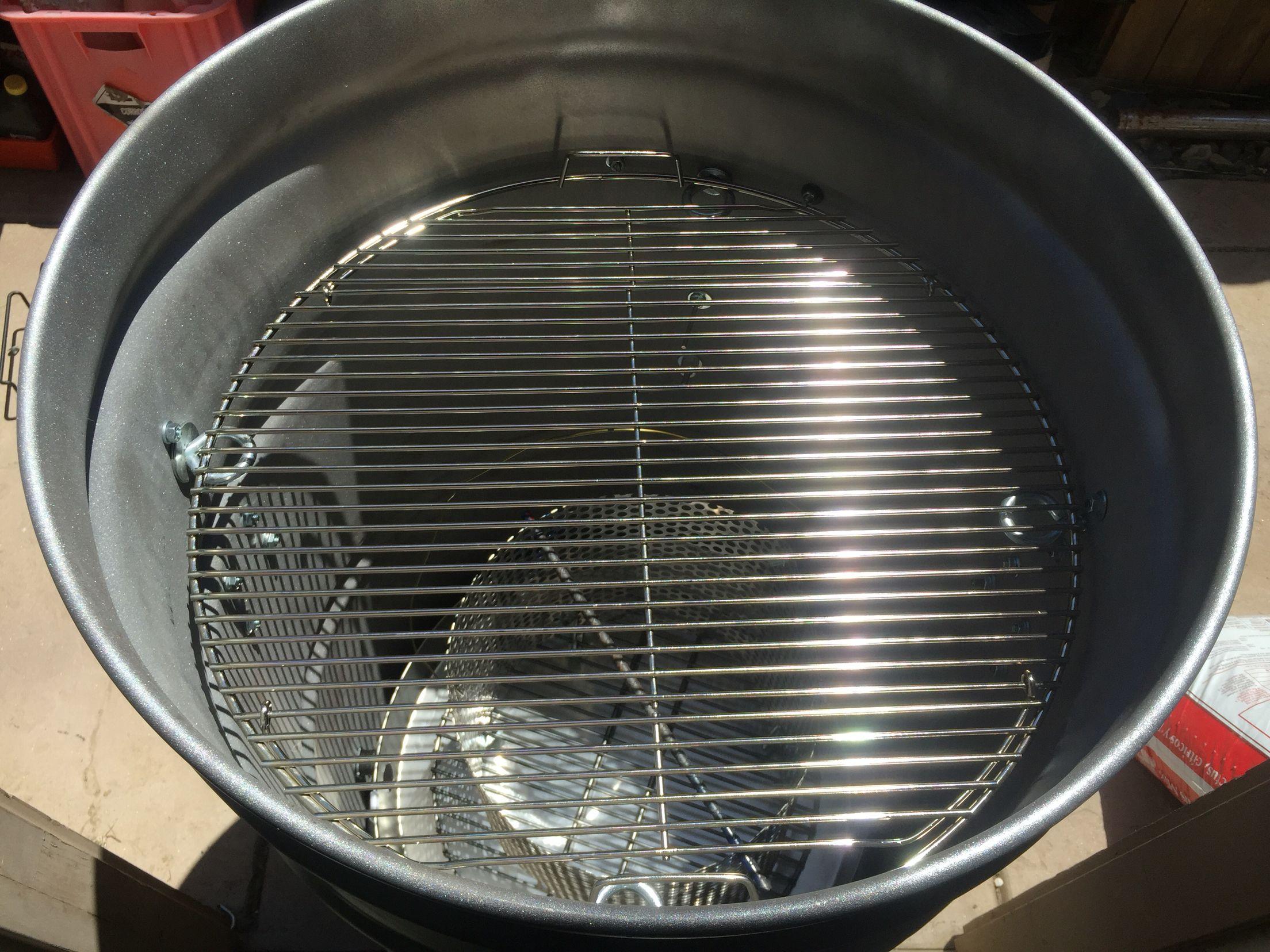 Grill Grate N Charcoal Basket Inside Uds Uds Ugly Drum