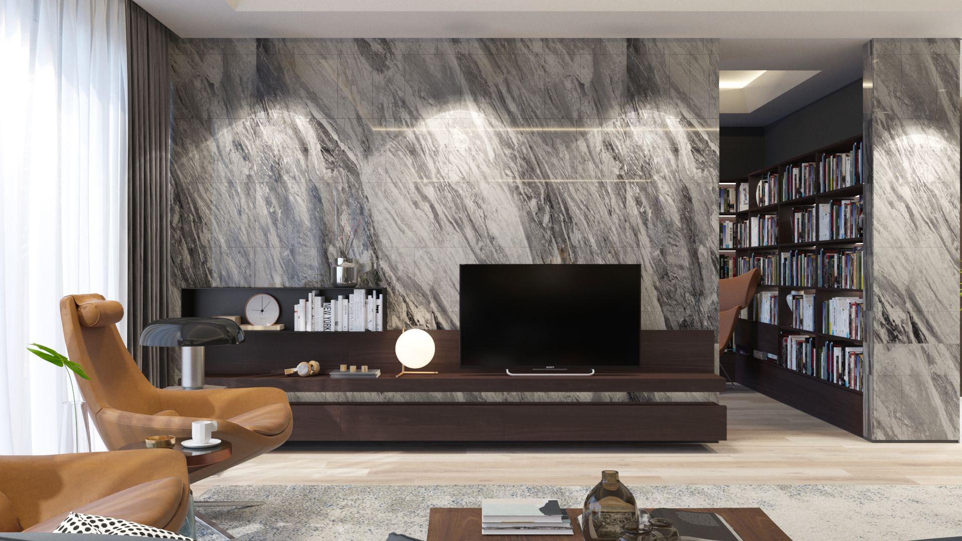 Penthouse In Nairobi On Behance Luxury Living Room Interior