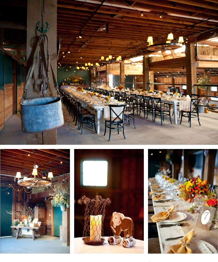 Cowboy Cowgirl Wedding Ideas: A Cowgirl Wedding Love The Tables