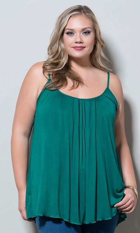 #plussize Pretty Cami at Curvalicious Clothes#bbw #curvy #fullfigured #plussize #thick #beautiful #fashionista #style #fashion #shop #online www.curvaliciousclothes.com TAKE 15% OFF Use code: TAKE15 at checkout