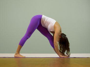 parivrtta anjaneyasana revolved lunge pose  all yoga