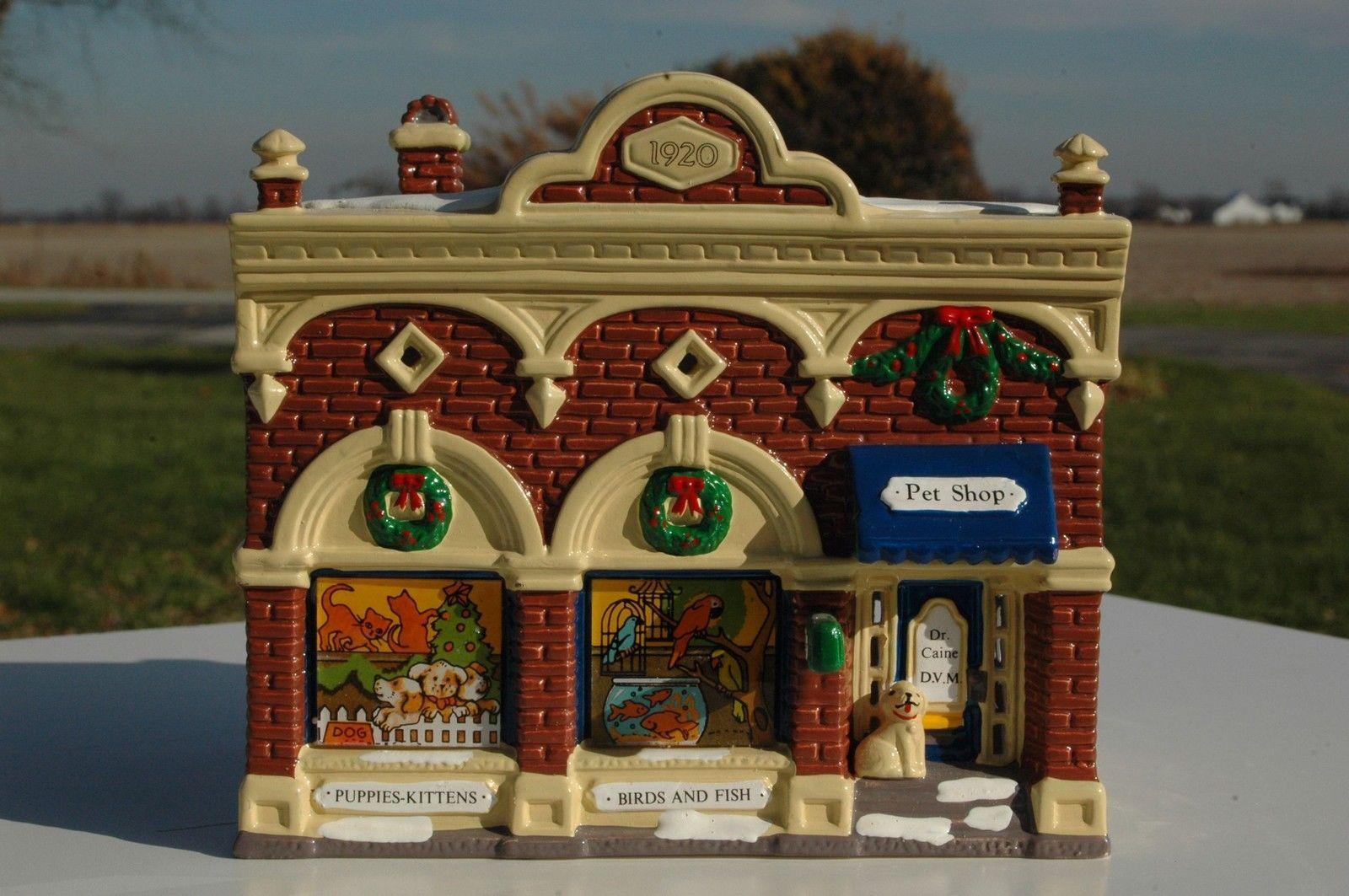 Christmas City Vet.Details About Department T 56 Snow Village Village Vet And