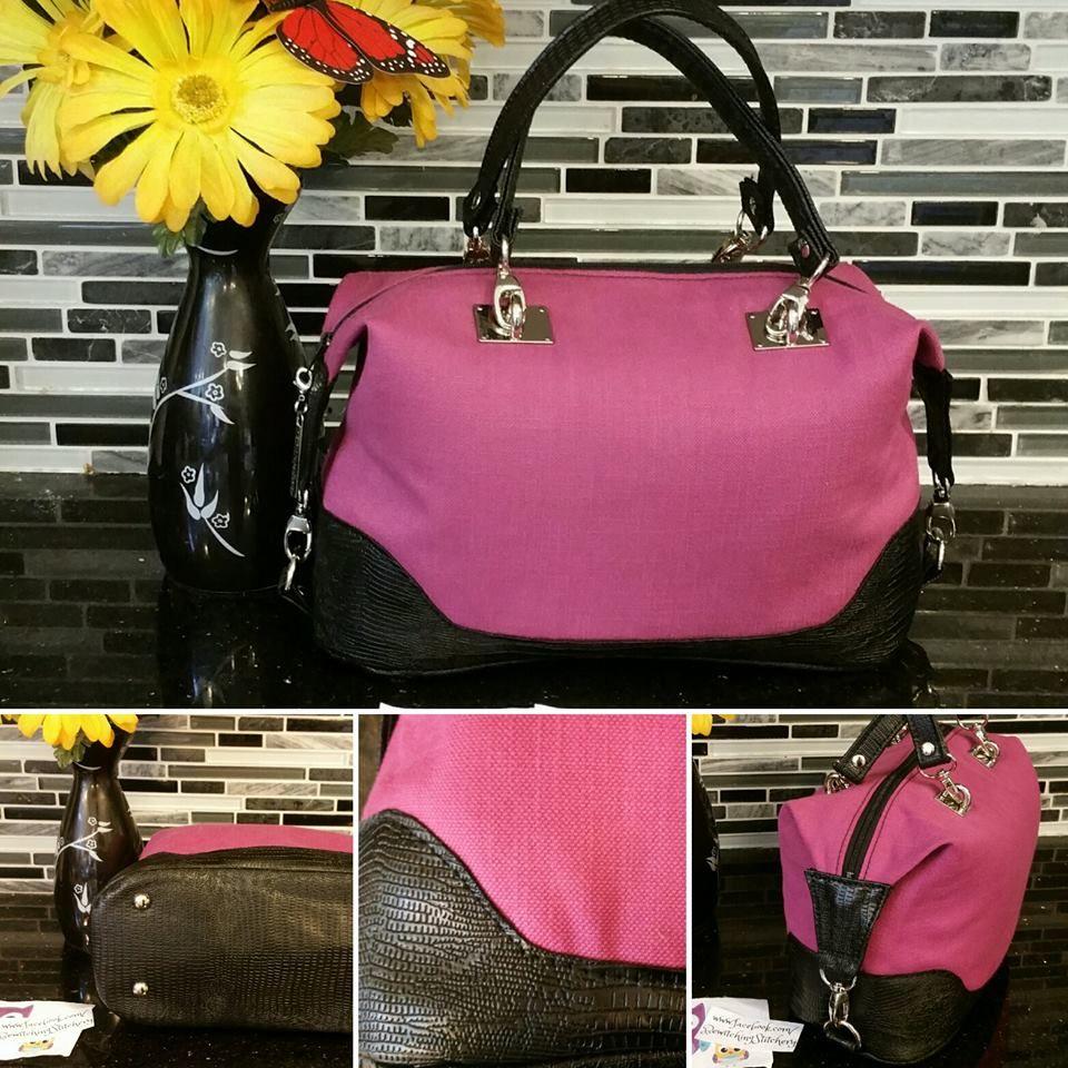 Brooklyn Handbag & Traveler | Taschen nähen, Stofftaschen und Diy nähen