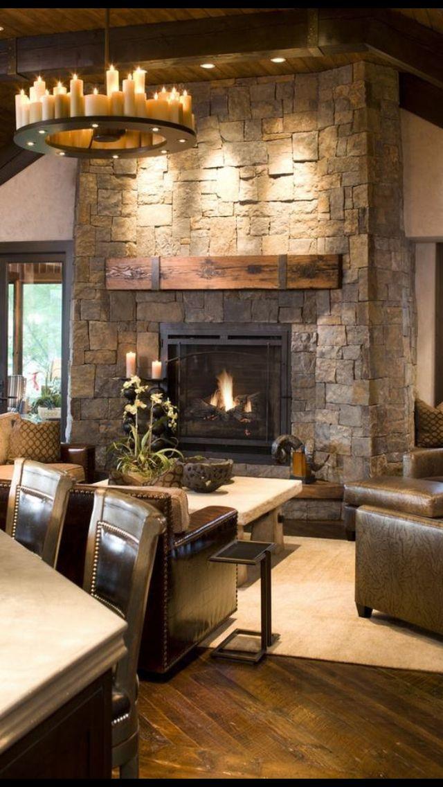 Fireplace Design beautiful fireplaces : Beautiful fireplace | BEAUTIFUL HOME | Pinterest | Room and Living ...