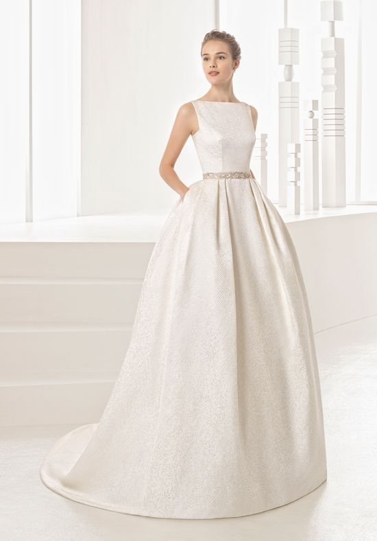 Rosa Clará Namibia Ball Gown Wedding Dress