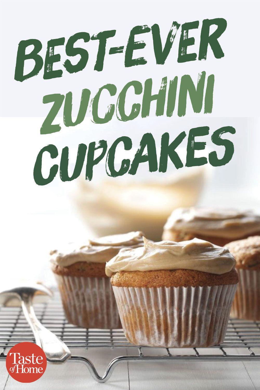 Zucchini Cupcakes Recipe Zucchini Cupcakes Zuchinni Recipes Recipes