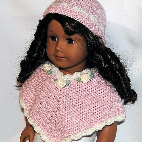 Instant Download - PDF Crochet Pattern - American Girl Doll Clothes ...