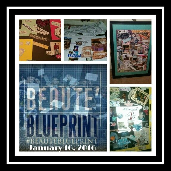 Beaute expert vision board collage beaute blueprints vision beaute expert vision board collage malvernweather Gallery