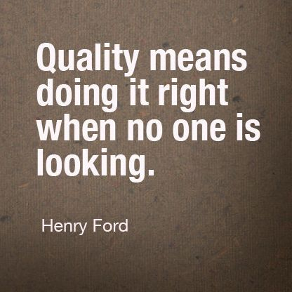 Quality Quotes A Little Saturday Inspiration From Mrford Himself Also One Of Our