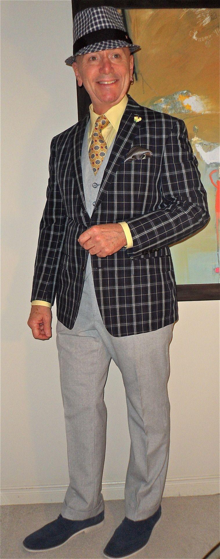 Ben Sherman hat, Ralph Lauren blazer, Tommy Hilfiger shirt, vintage tie, vintage…