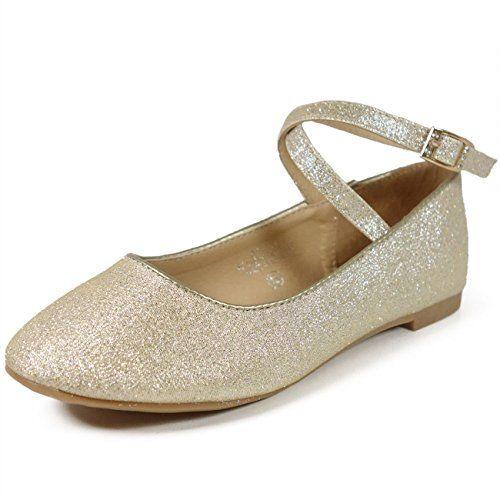 VOVOshoes GURU-008 Girls Mary Jane Classic Flat Dress Shoes ...