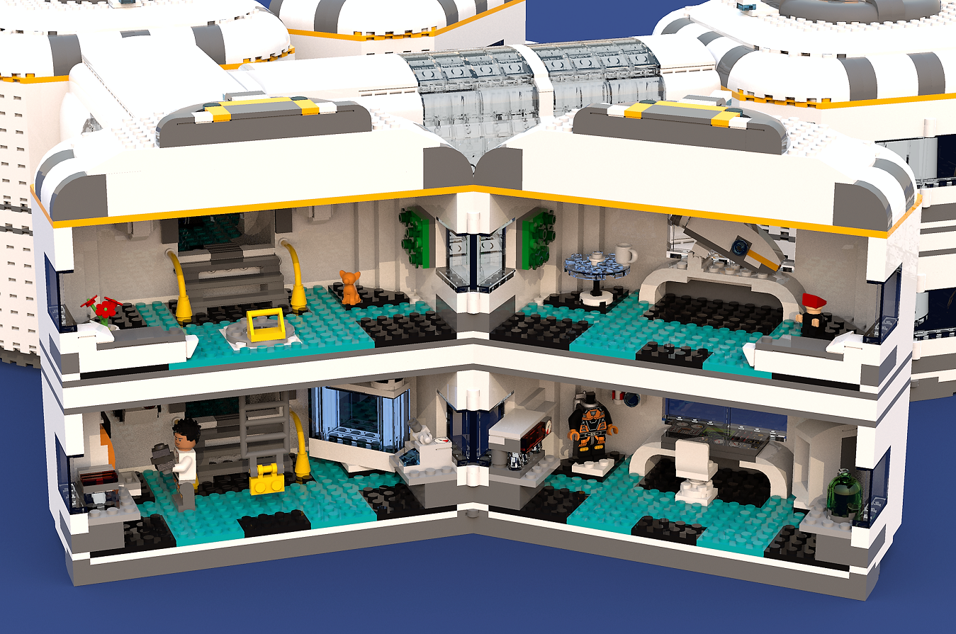 Subnautica Underwater Base In The Grand Reef Lego Creator Sets Lego City Space Lego Creations